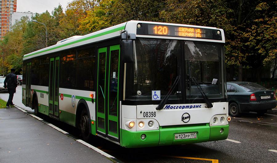 Изменение маршрута автобуса 120