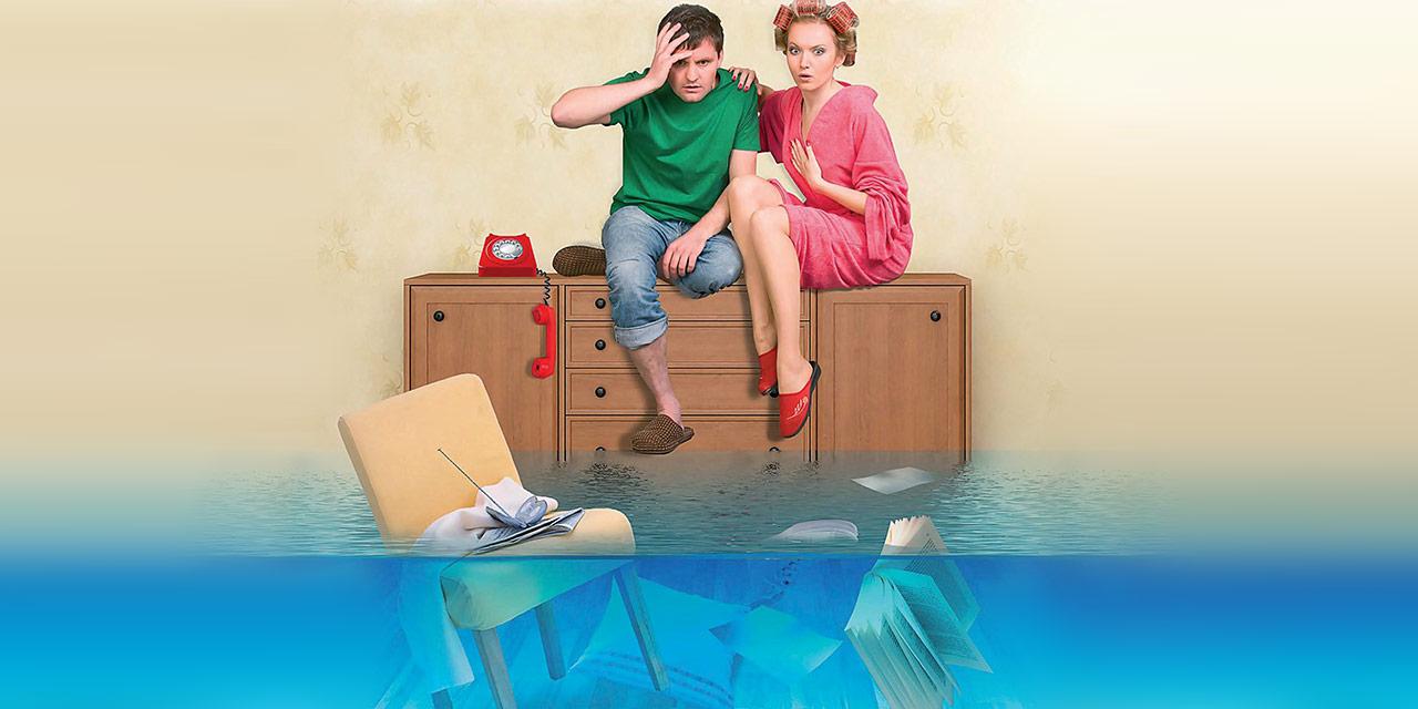 Что делать если затопило квартиру
