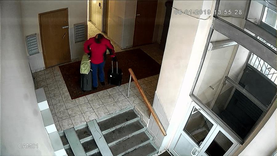 Поломка шлагбаума 06.01.2019 года