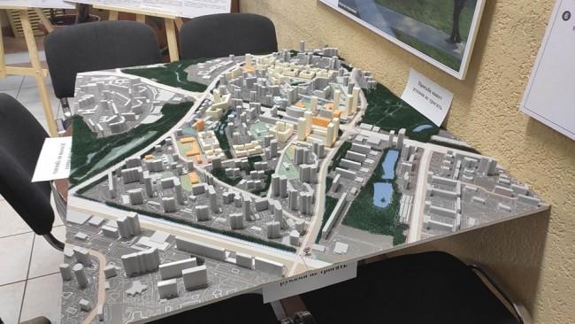 Публичные слушания по проекту планировки 32-33, 34-35 кварталов Проспект Вернадского