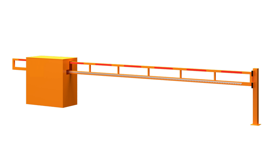 Внимание откатной шлагбаум
